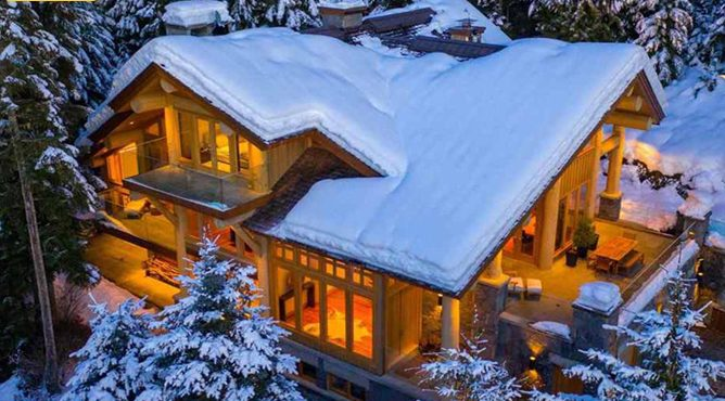 Photo of This Is A $15 Million Winter Ski House