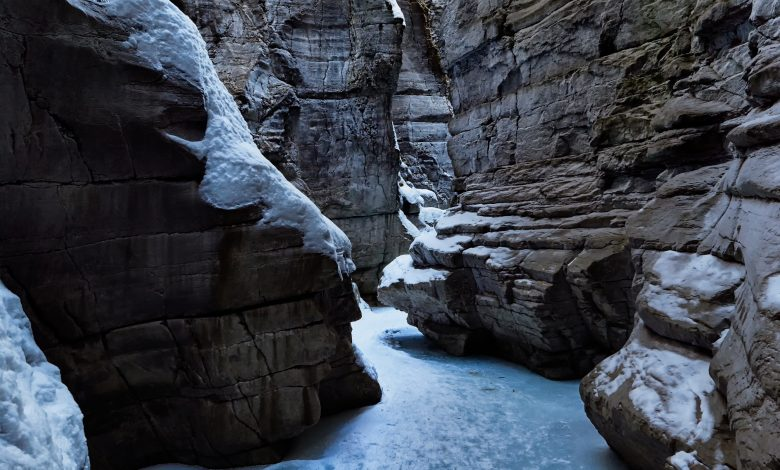 Photo of This Ice Formation Is One Of The Most Spectacular Natural Formations In The Jasper National Park