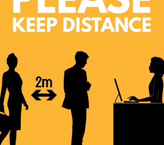 Photo of Keep Your Distance Please!