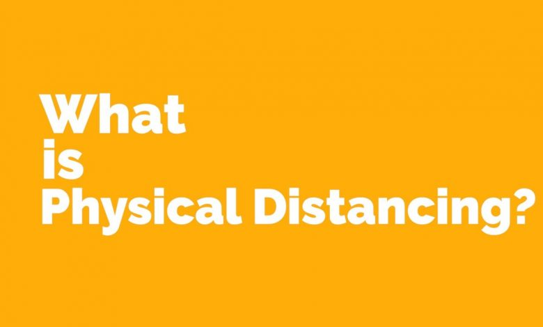 Photo of Physical Distancing When Outdoors