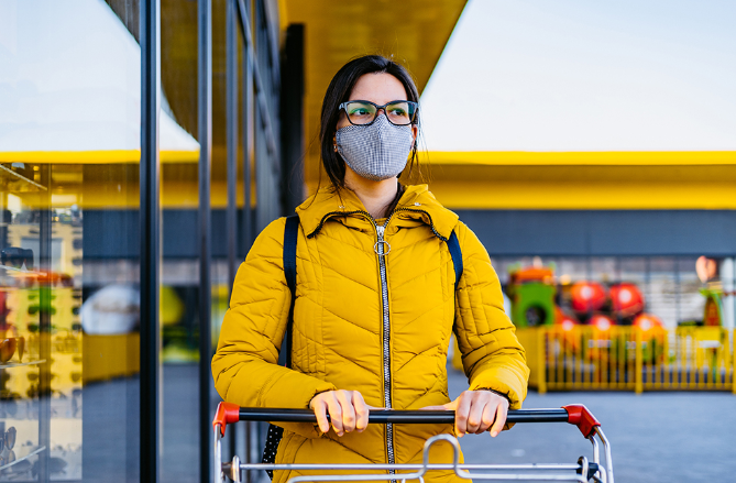 Toronto surprised and also concerned a lot of people not wearing face masks in public
